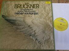 2707 085 Bruckner Symphony No. 8 / Karajan 2 LP box