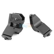 45 Degree Tactical Off Set Fixed Back Up Iron Front Rear Rapid Transition Sights