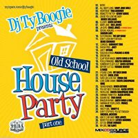 DJ Ty Boogie Old School House Party 1 NYC 80's RNB & Funk PROMO MIXTAPE MIX CD