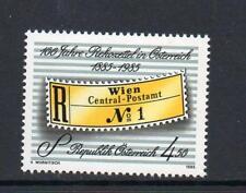AUSTRIA MNH 1985 SG2046 CENTENARY OF REGISTRATION LABELS