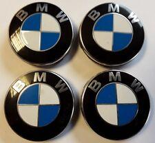 Four Genuine BMW Centre Wheel Caps 6 783 536-04