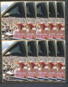 LADY DIANA NIGER 1997 Sydney Opera House MNH 10x Minisheets [D155]