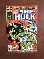Savage She-Hulk #12 (1981) 7.5 VF Marvel Key Issue Bronze Age Comic High Grade