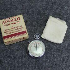 Vintage Apollo Stopwatch Number 14-1/2 Seven Jewel Vintage Swiss Made ML