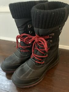 STORM BY COUGAR WOMEN'S BLACK WINTER BOOTS SIZE 6 NWOB