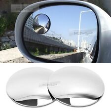 Slim Circle Car Blind Spot Mirror Auxiliary SL Lens 50.8mm 2p For Universal Fit