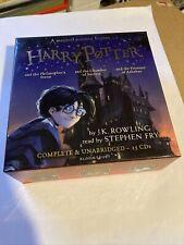 Harry Potter Bücher 1-3 von J.K. Rowling (Audio CD) Gelesen von Stephen Fry 25 CDs