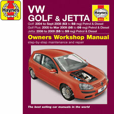 [4610] VW Golf Jetta 1.4 1.6 2.0 Petrol 1.9 2.0 Dsl 04-07 (53 to 07 Reg) Haynes