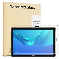 HD Tempered Glass Screen Protector for Huawei Mediapad M5 10 10.8 Inch 2018 Rel