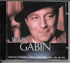 CD COMPIL 15 TITRES--JEAN GABIN--QUAND ON S'PROMENE AU BORD DE L'EAU...