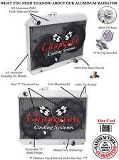 "2 Row QR Champion Radiator #1680 W/ 2 12"" Fans fits 1965 1966 1967 Pontiac Cars"