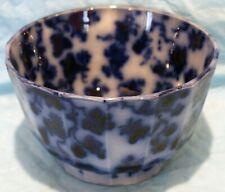 Flow Blue, Ironstone Waste Bowl To a Tea Set