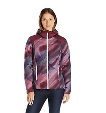 Spyder Women's Bernese Down Jacket /L/ Geo Rays Voila Print/Fini (GRV/FIN )