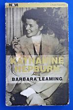 Katharine Hepburn by Barbara Leaming audio 2 cassette set