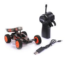 1/32 2.4G USB Rechargeable RC Racing Car Toy W/Remote Control Kids Gift Black