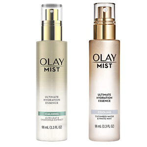 Olay Mist Ultimate Hydration Essence Cooling Cucumber Water + Calming Aloe Leaf