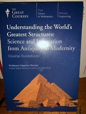 The Great Courses Understanding The Worlds Greatest Structures Guidebook DVD G13