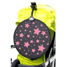 Pare-soleil et capotes rose pour poussette et système combiné de promenade pour bébé