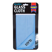 Kent Car Care Microfibre Glass Window Mirror Cleaning Polishing Cloth 40x40cm