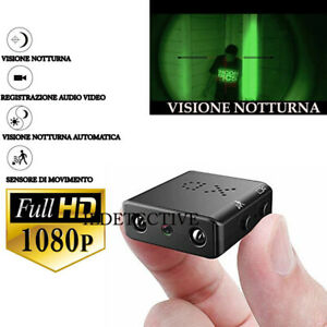 Telecamera spia infrarossi visione notturna microcamera mini micro