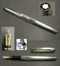 Montblanc Noblesse fountain pen in silverplated 1990ties #