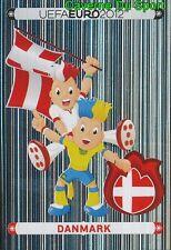 194 Official Mascot - Danmark DENMARK STICKER EURO 2012 PANINI