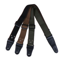 Adjustable Pure Cotton Guitar Strap for Acoustic Electric Bass Guitar Musical YK