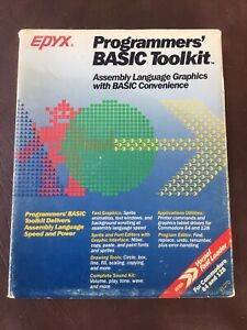 Programmer's BASIC Toolkit by EPYX for Commodore 64 and 138