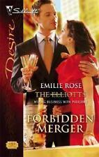 Forbidden Merger: The Elliotts (Silhouette Desire)-ExLibrary