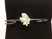 "Autism Jigsaw Piece TG558 Pewter Scarf and Kilt Pin Pewter 3"" 7.5 cm"