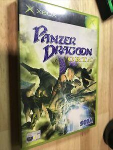 Panzer Dragoon Orta Xbox Free Post RARE