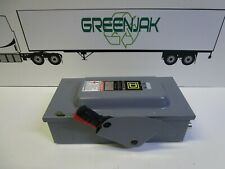 Square D H322n Series F1 60a Heavy Duty Enclosed Switch Used Free Shipping