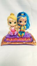 Nickelodeon Shimmer and Shine Magic Flying Carpet 2 Dolls 2015 Fisher Price