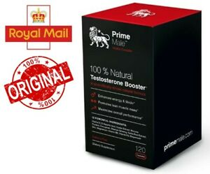 Prime Male - Extra Strong Natural Testosterone Support Formula 120 Capsules