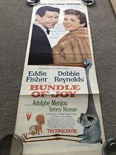 Bundle Of Joy (1957) Original US Insert Cinema Poster