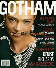 Gotham 3/02,Denise Richards,March 2002,NEW