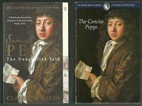 3 BOOK SAMUEL PEPYS DIARY SET/BIOGRAPHY/ILLUSTRATED ED/CONCISE WORKS/HISTORY