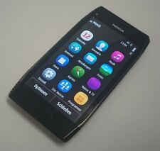 Nokia X7 Smartphone Symbian Klassiker Steel Black alle Sim Touch Top