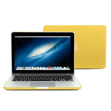 Yellow Frosted Case Keyboard Cover for MacBook Pro 13 inch with Retina display