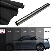 50cm *6m Tönungsfolien Scheibenfolie Fensterfolie 5% VLT Auto Sonnenschutz