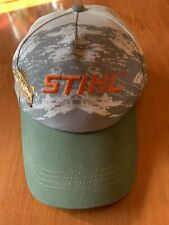 STIHL 2019 Collectors Cap Baseball Hat Fish Design