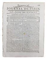 Enterrement de Rousseau 1791 Ermenonville île des peupliers Girardin Révolution