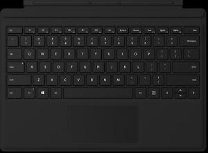 Microsoft Surface Pro Type Cover Tastatur - Schwarz (Modell: 1725)