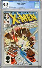 X-Men  #217  CGC   9.8   NMMT   White pgs  5/87  Dazzler vs Juggernaut  C. Clar