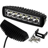 18W Flood LED Light Work Bar Lamp Driving Fog Offroad SUV 4WD Car Boat Truck UK