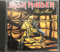 Iron Maiden – Piece Of Mind CD 1984 Capitol Records – C2 46363 2