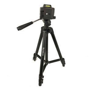 "Ravelli 44"" Collapsible Portable Black Aluminum Camera Tripod DSLR Photography"