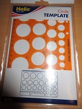 Helix Circle Template Stencil H6701 - 0352600*  free post in stock