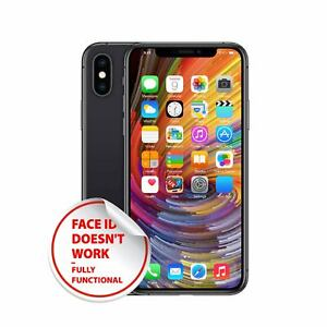 Apple iPhone X (64|256GB) - Unlocked - Various Colors - Acceptable (NO FACE ID)