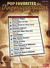 POP FAVORITES FOR FINGERSTYLE GUITAR Tab